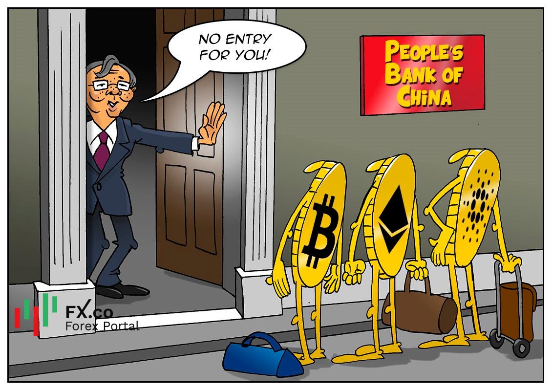 Beijing melarang industri kripto untuk kepentingan warganya