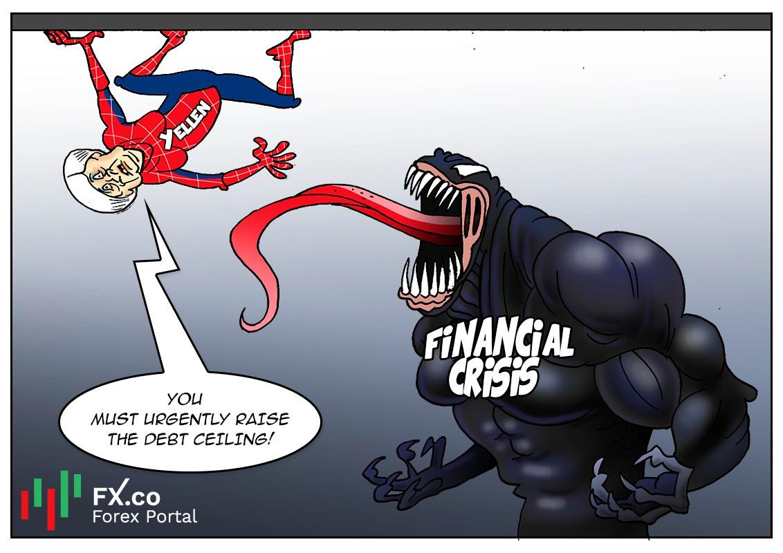 Yellen cảnh báo về hậu quả 'thảm khốc' nếu Quốc hội không giải quyết được giới hạn nợ