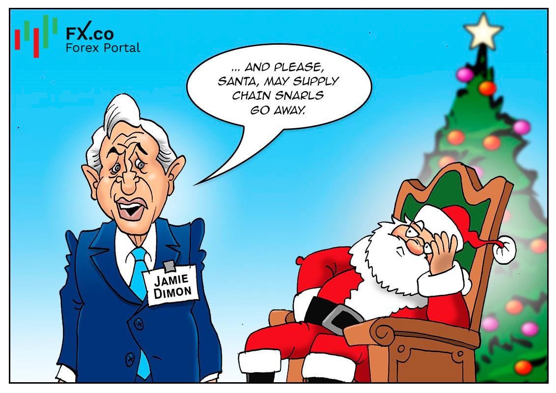 Gangguan rantaian bekalan akan berakhir tahun depan menurut Jamie Dimon dari JPMorgan