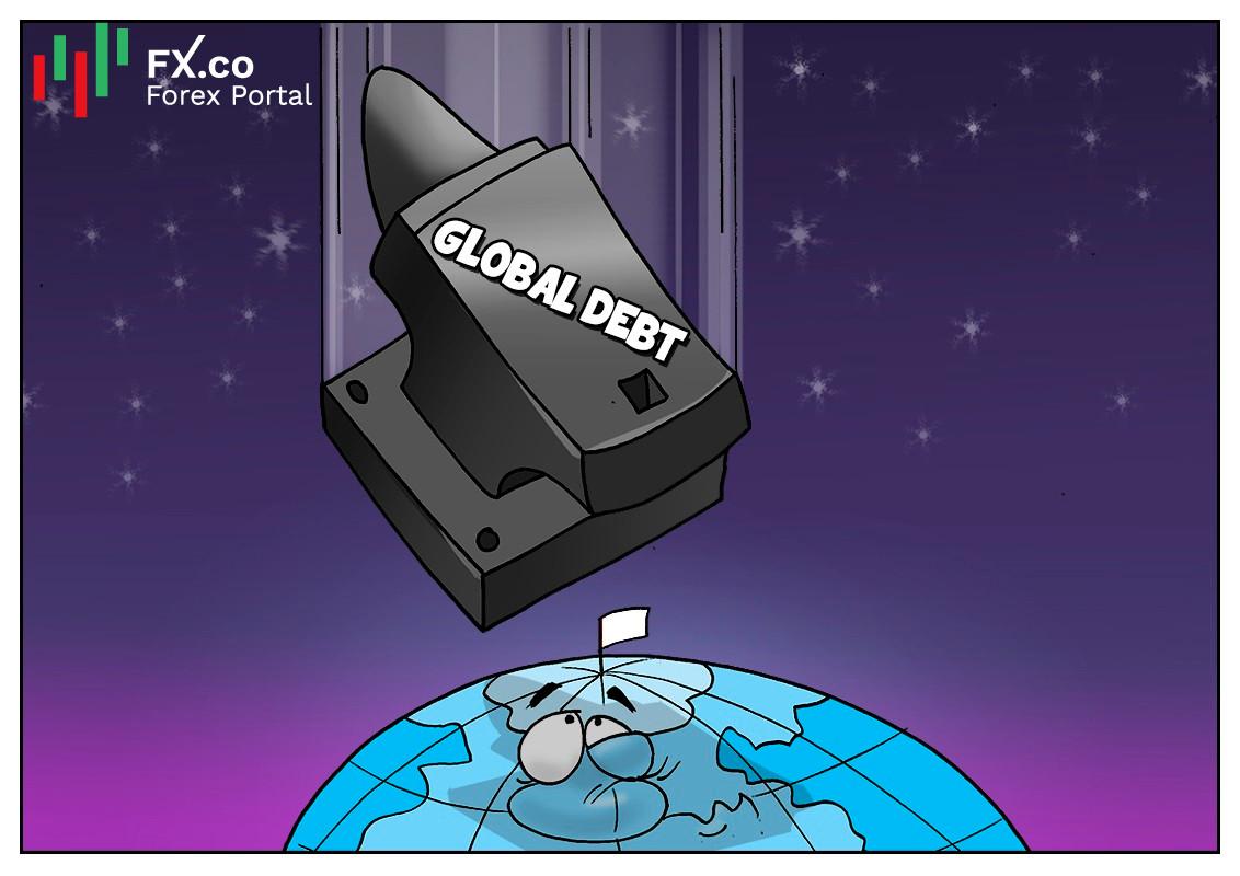 หนี้สาธารณะของโลกสูงถึง 88พันล้านดอลลาร์