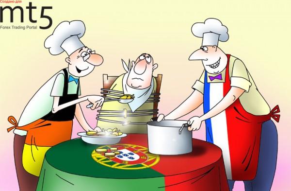 Португалию пытаются принудить обратиться за финансовой помощью