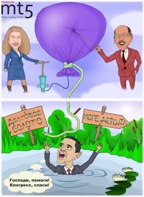 Обама отказался сравнивать ситуацию в США с Грецией и Португалией