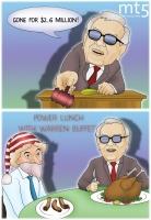 Makan siang dengan Warren Buffet menghabiskan biaya sebesar $2,6 juta