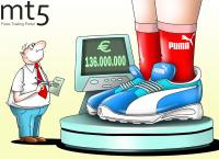 Годовая прибыль Puma выросла в 2,2 раза