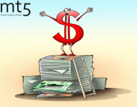 Treasury yields slightly raise the dollar rate