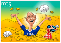 Russian World Cup can bring huge profits to FIFA
