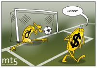Ruble berubah menjadi mata uang terlemah