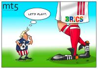 Negara BRICS mana yang ingin melawan AS?