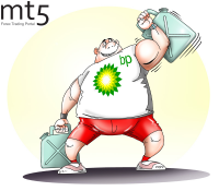 BP's net profit triples in first half of 2018