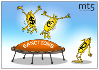 Ruble plunges on sanctions news