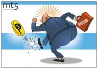 Para investor hilang kesabaran, menyebabkan peso Argentina jatuh