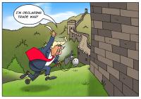 Donald Trump mendekati tujuan perdagangannya