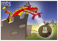 China sells off US Treasuries
