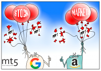Google, Amazon post disappointing sales outlook