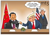 Trump to negotiate truce with China