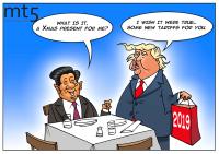 ترامب يضغط على الصين بمزيد من التعريفات الجمركية