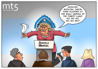 Merkel says Europe should not cut ties with Russia