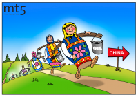 Russia gets dubious benefit from trade with China