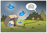 Speculators can earn on Trump's tweets