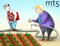 Trump mendesak Fed untuk melonggarkan kebijakan moneter