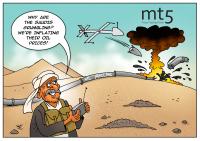 Drone attacks on Saudi pipeline boost oil prices