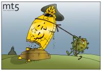 Пандемия бросает вызов долларовой гегемонии, доллар смотрит на это с иронией