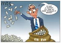 Fed's balance sheet surpasses $7 trln amid coronavirus stimulus