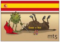 Nền kinh tế Tây Ban Nha rơi vào tình trạng ảm đạm do coronavirus