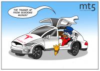 Tesla trở thành nhà sản xuất ô tô có giá trị nhất trong lịch sử
