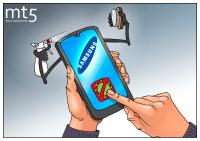 """""""Самсунг"""" представя UV стерилизатор за смартфони"""