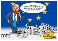 ЕС разпределя 750 млрд. евро средства за възстановяване на икономиката си