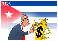 Kuba menyerah dalam pertarungan melawan dolar AS