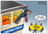 Bisnis di seluruh dunia terlilit utang besar