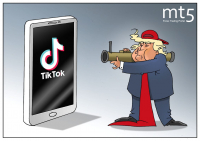 Следуя современным тенденциям: Люди в шоке, Трамп в ТикТоке!