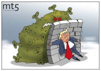 Трамп: Люди мне не верили, а я говорил! Я своей стеною болезнь остановил!
