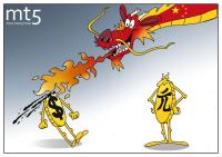 Китайский юань идет в наступление — у доллара портится настроение!
