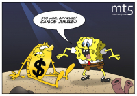 Золоту достался слабый противник — доллар проигрывает этот спарринг