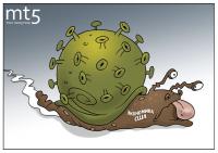 Следит планета с нетерпением за США и их падением!