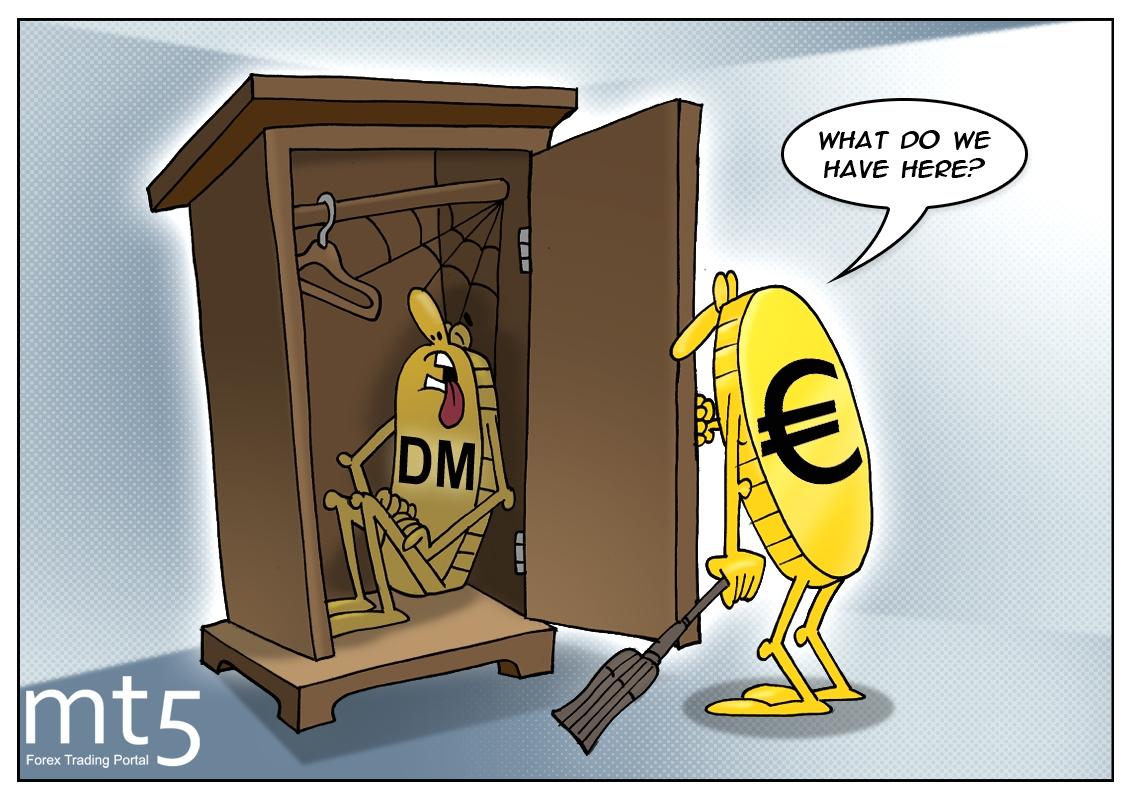 Warga Eropa menyimpan 15 miliar euro dalam mata uang nasional terdahulu