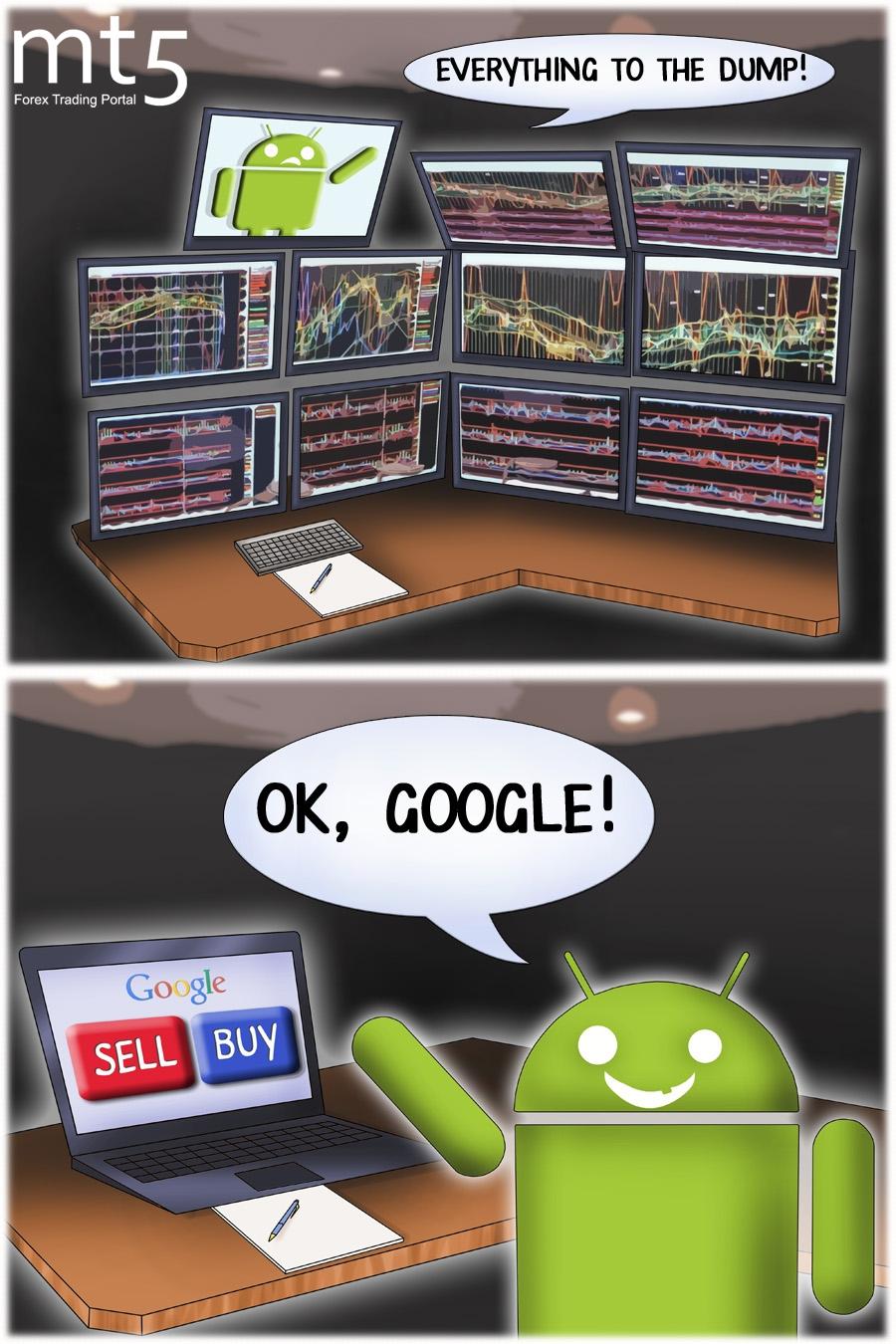 Google to help traders analyze financial markets