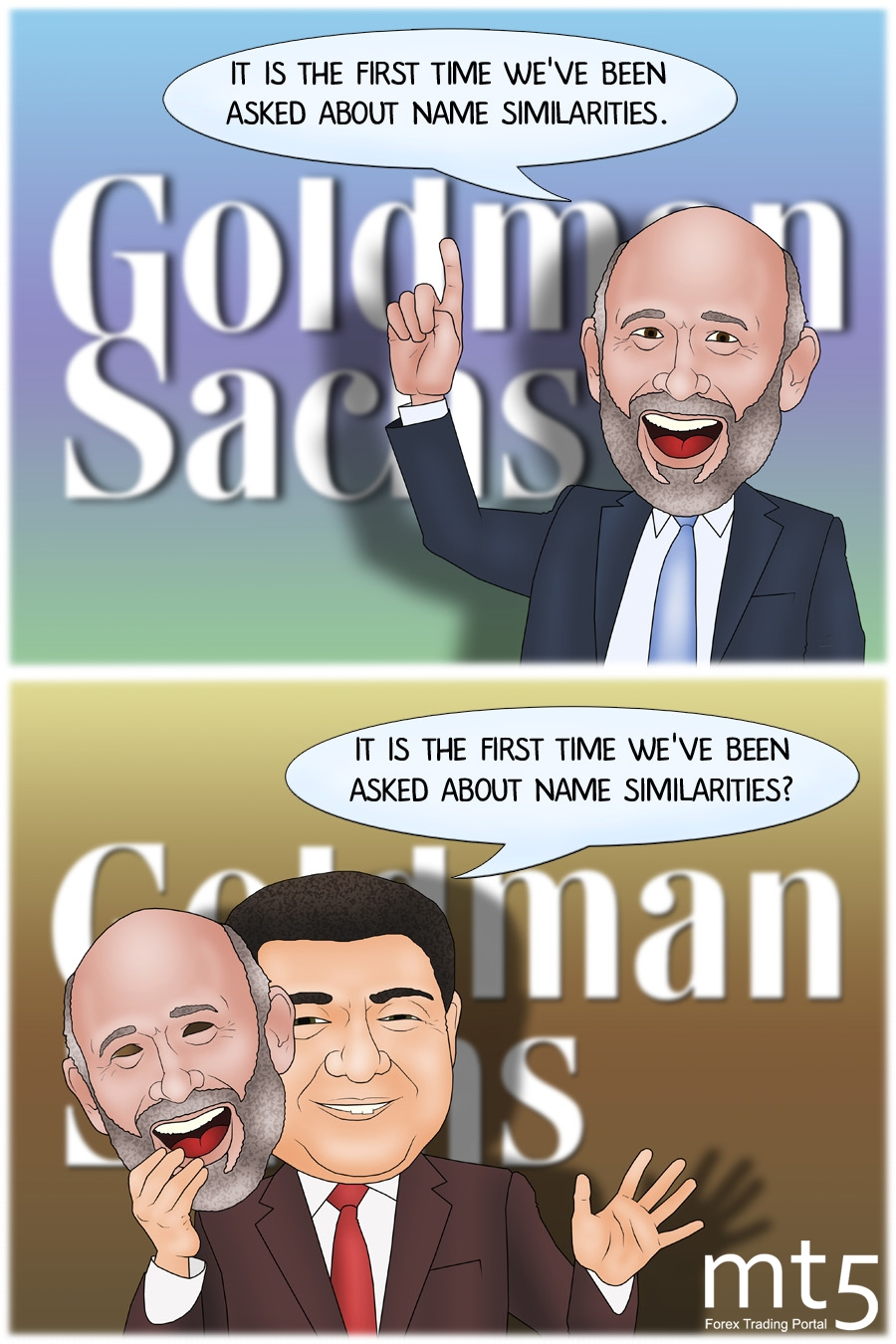 Fake Goldman Sachs appears in China