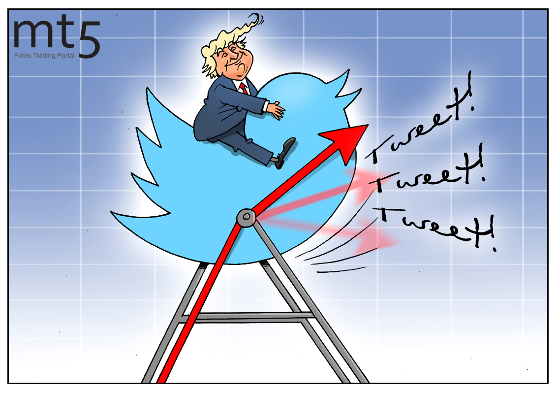 Trump's tweets shake Russian stocks