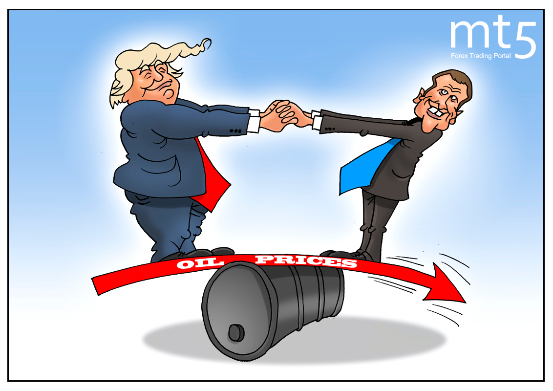 Macron props up oil prices