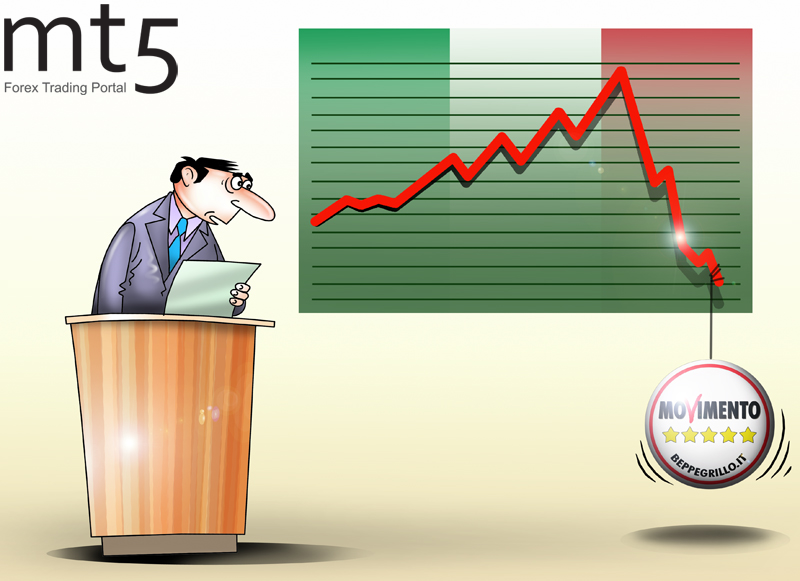 Итальянские облигации обрушились из-за политической нестабильности в стране