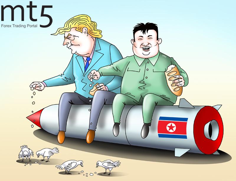 Историческая встреча лидеров США и Северной Кореи состоялась