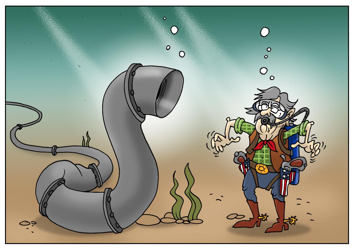 Америка готова преподать урок тем, кто планирует пустить поток