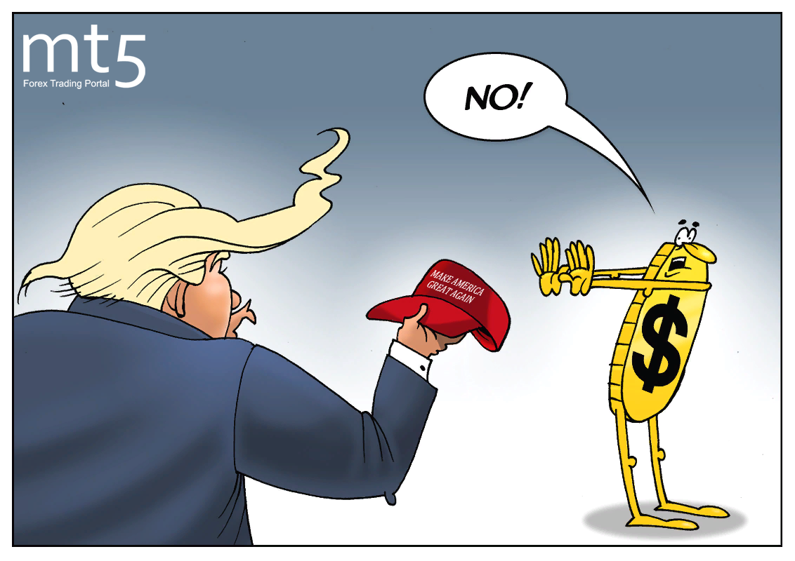 Donald Trump has no control over US dollar