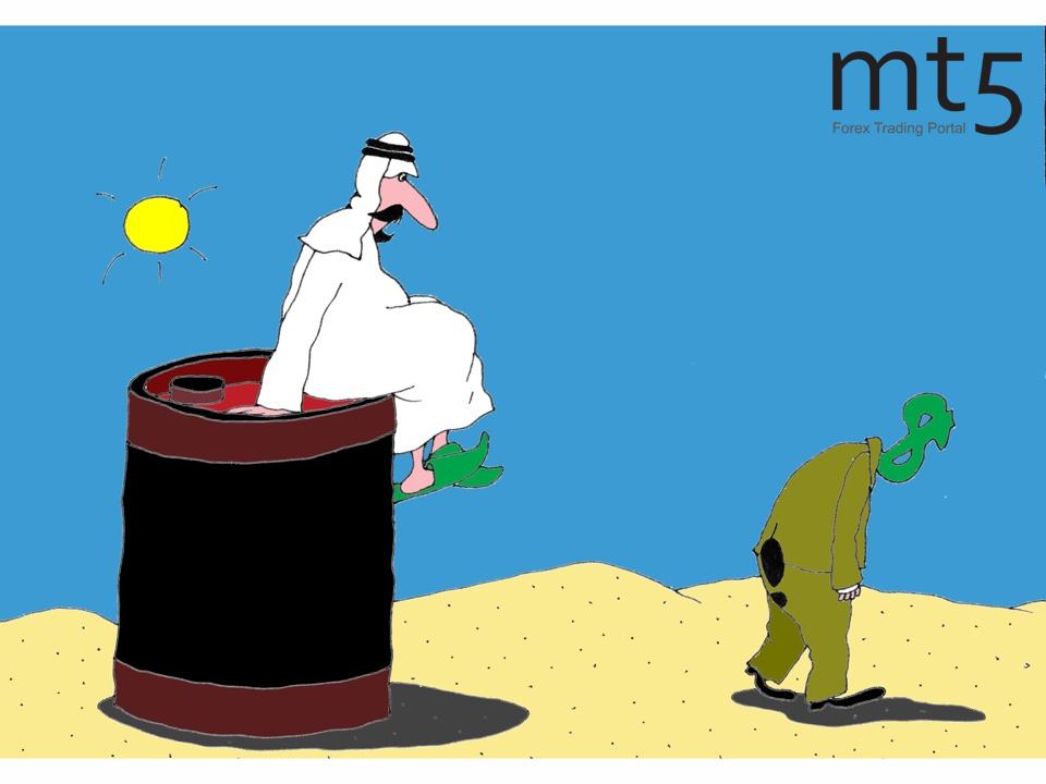 Власти Саудовской Аравии готовы отказаться от продажи нефти в долларах США