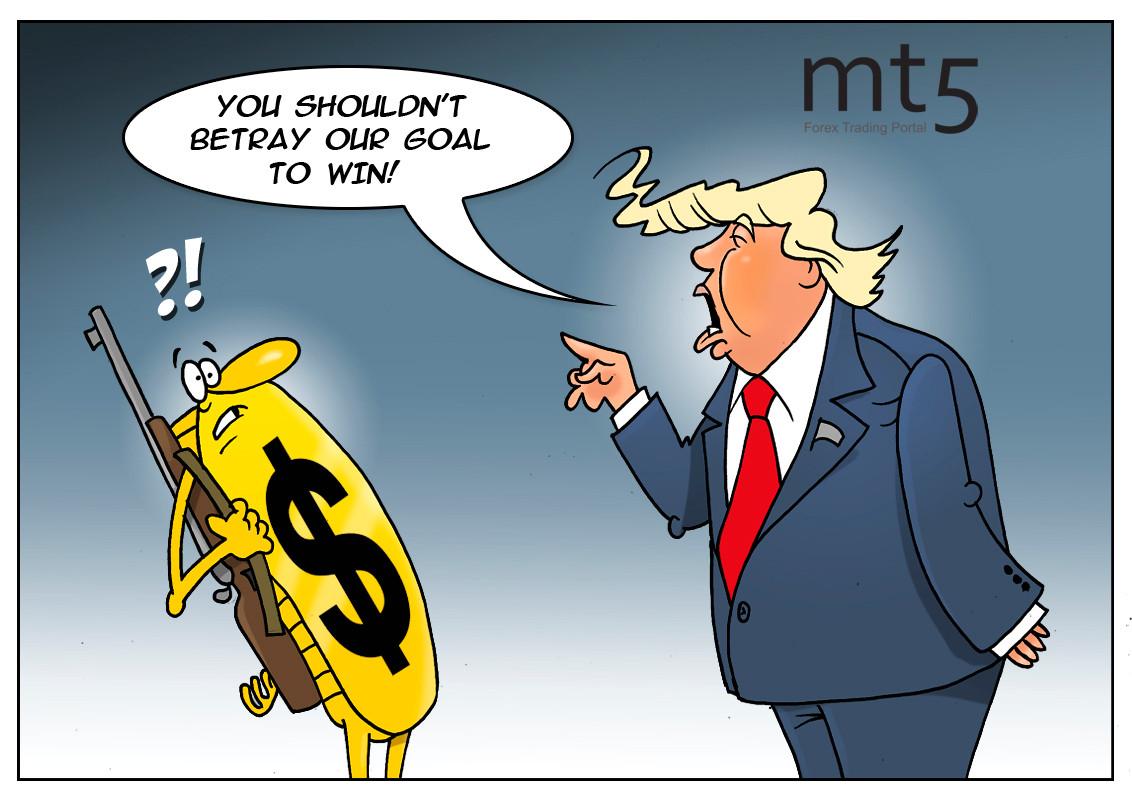 Trump wants weaker US dollar