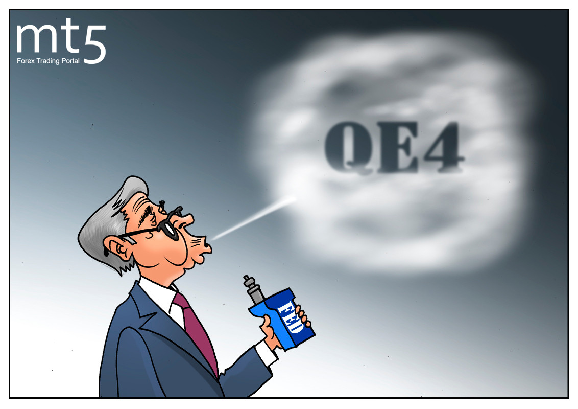 Fed about to launch QE4 this year